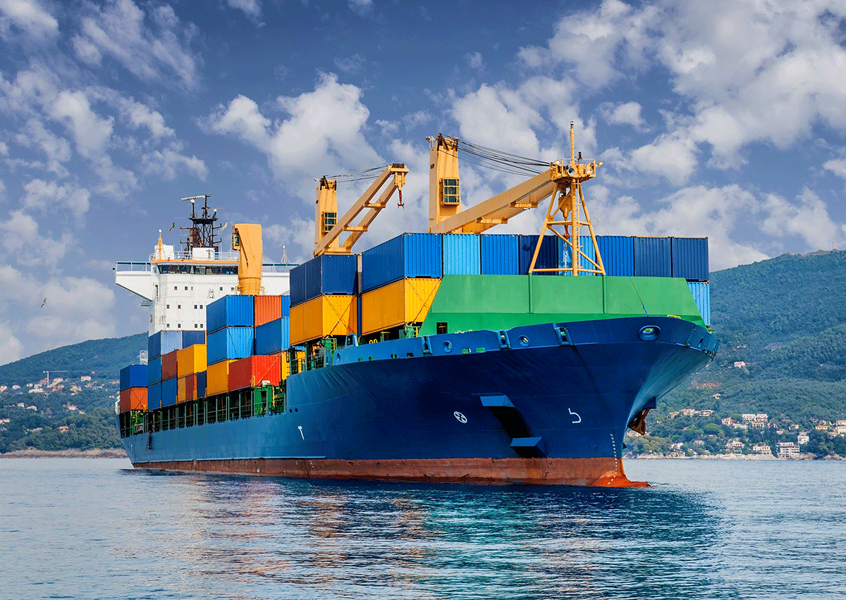 Cargo ship - investment market review