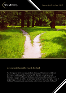 GDIM Investment Market Review & Outlook October 2018
