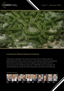 GDIM Investment Market Review Q1 2019